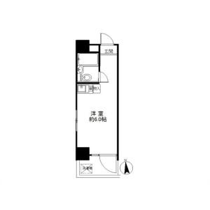 1R Mansion in Kameido - Koto-ku Floorplan