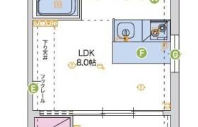 1LDK {building type} in Motomachi - Fukuoka-shi Hakata-ku