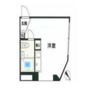 1R {building type} in Nukui - Nerima-ku Floorplan