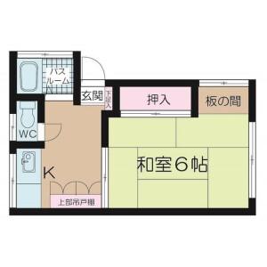 1K Apartment in Kitashinjuku - Shinjuku-ku Floorplan