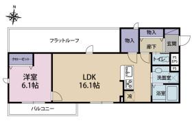 1LDK Apartment in Nishikojiya - Ota-ku