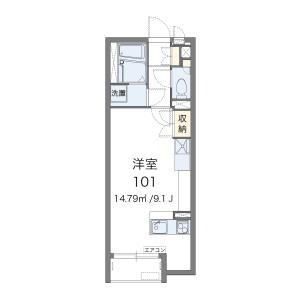 1R Apartment in Kanshuji nawatecho - Kyoto-shi Yamashina-ku Floorplan