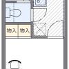 1K Apartment to Rent in Shizuoka-shi Suruga-ku Floorplan