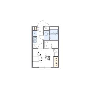 1K Mansion in Daishimachi - Kawasaki-shi Kawasaki-ku Floorplan