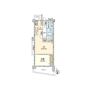 1LDK {building type} in Takaidonishi - Suginami-ku Floorplan