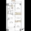 2SLDK Apartment to Buy in Setagaya-ku Floorplan