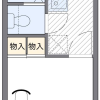 1K Apartment to Rent in Soka-shi Floorplan