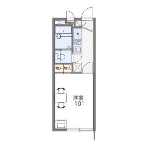 1K Mansion in Yotsugi - Katsushika-ku Floorplan