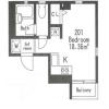 在港區內租賃1R 公寓大廈 的房產 房間格局