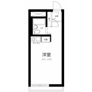 1R Apartment in Hommachi - Shibuya-ku Floorplan