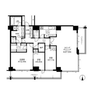 3LDK {building type} in Ikenohata - Taito-ku Floorplan