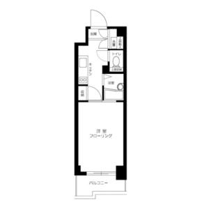 1K Mansion in Otowa - Bunkyo-ku Floorplan