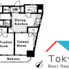 2DK Apartment to Rent in Toshima-ku Floorplan