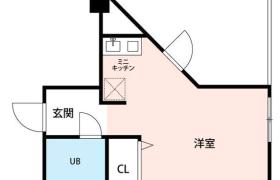 1K Apartment in Higashienokicho - Shinjuku-ku