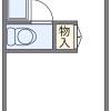 在堺市堺區內租賃1K 公寓 的房產 房間格局