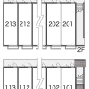 1K Apartment to Rent in Tokoname-shi Layout Drawing