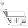 1LDK Apartment to Rent in Ishioka-shi Layout Drawing