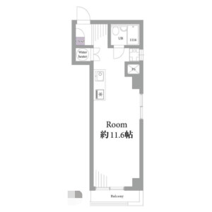1K Mansion in Wakamatsucho - Shinjuku-ku Floorplan