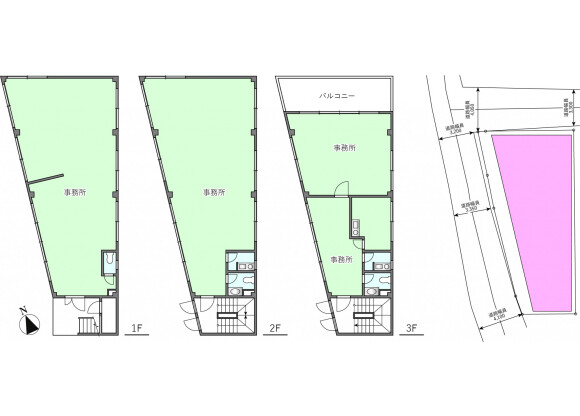 Whole Building Office to Buy in Atami-shi Floorplan