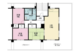 3LDK {building type} in Tsukui - Yokosuka-shi