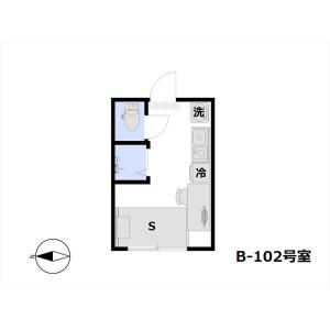 1R Apartment in Shimura - Itabashi-ku Floorplan