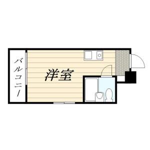 1R Mansion in Higashitamagawa - Setagaya-ku Floorplan