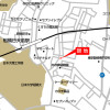1LDK Apartment to Rent in Funabashi-shi Access Map