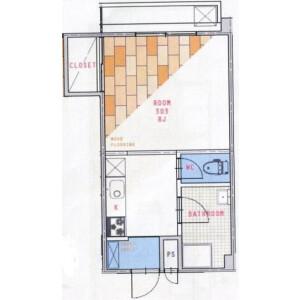 1DK Mansion in Minamitokiwadai - Itabashi-ku Floorplan