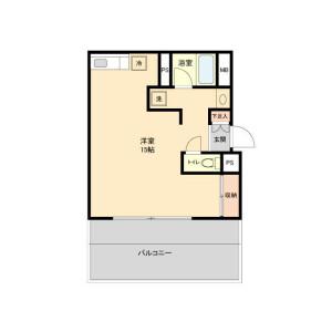 1R Mansion in Kugahara - Ota-ku Floorplan