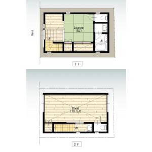 1DK House in Matsugaya - Taito-ku Floorplan