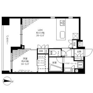 1K Mansion in Ryogoku - Sumida-ku Floorplan