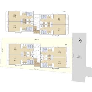 Whole Building {building type} in Yamatocho - Nakano-ku Floorplan