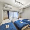 在大阪市淀川區內租賃1R 服務式公寓 的房產 臥室
