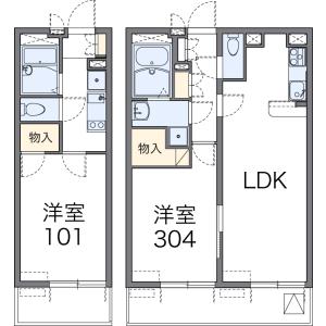 1LDK Mansion in Horikiri - Katsushika-ku Floorplan