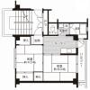2K Apartment to Rent in Hadano-shi Floorplan