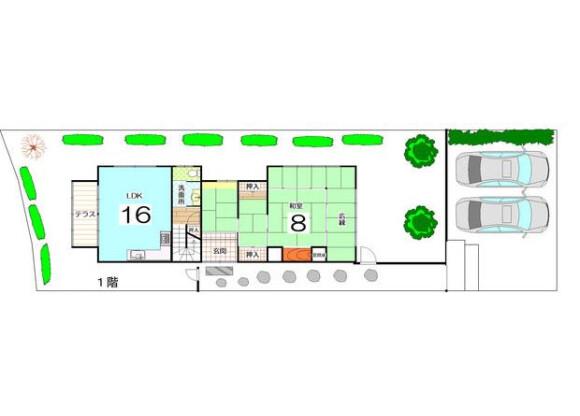 5SLDK House to Buy in Kyoto-shi Ukyo-ku Floorplan