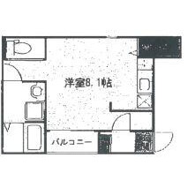 1R Mansion in Inazucho - Toyonaka-shi Floorplan