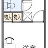 1K マンション 大阪市生野区 間取り