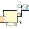 1K Apartment to Rent in Setagaya-ku Floorplan