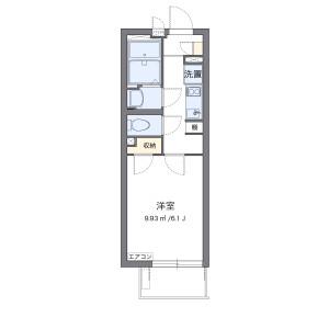 1K Mansion in Maeji - Saitama-shi Urawa-ku Floorplan