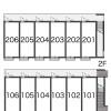 1K Apartment to Rent in Kyoto-shi Ukyo-ku Layout Drawing