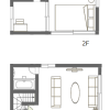 2DK House to Rent in Shibuya-ku Floorplan