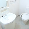 1K Apartment to Rent in Yokohama-shi Kohoku-ku Washroom