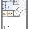1K Apartment to Rent in Fujimi-shi Floorplan