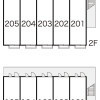 1K Apartment to Rent in Nerima-ku Layout Drawing
