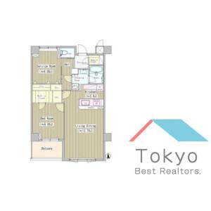 1SLDK Mansion in Higashinakano - Nakano-ku Floorplan