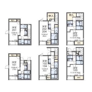 1K Apartment in Seta - Setagaya-ku Floorplan