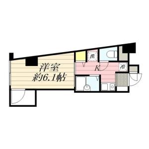 1K Mansion in Higashimagome - Ota-ku Floorplan