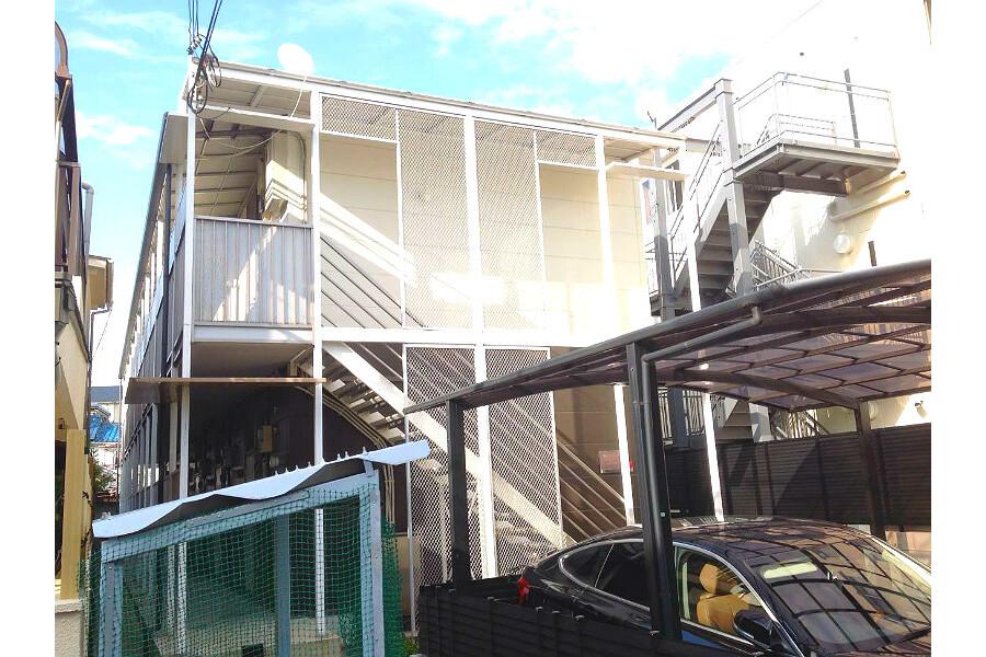 在大阪市平野區內租賃1K 公寓大廈 的房產 戶外