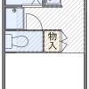 1K Apartment to Rent in Saitama-shi Sakura-ku Floorplan